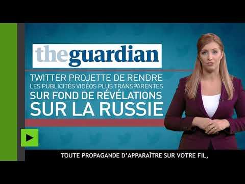 La Russie : ennemi numéro un pour Twitter ? Comment le réseau social ignore les menaces réelles