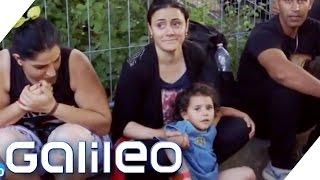 Galileo fährt hin: Flüchtlinge auf der Autobahn   Galileo   ProSieben