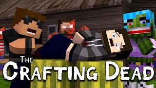 "Bleeding Out!! ""The Walking Dead"" Ep.2 (Crafting Dead Roleplay)"