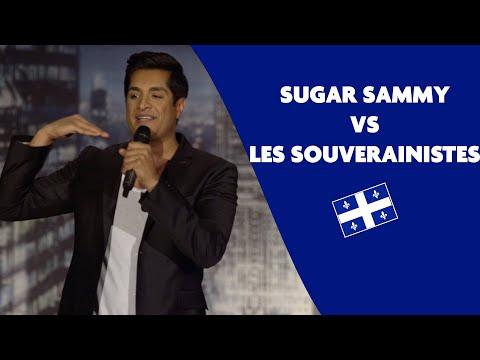 Sugar Sammy vs les souverainistes