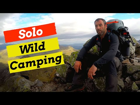 Wild Camping, Hillwalking & Drone - Eastern Mamores - Scotland