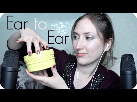 ASMR Ear to Ear Lid Sounds, Tapping, Pop Rocks, Windshield Touching & Super Close Up Whispering