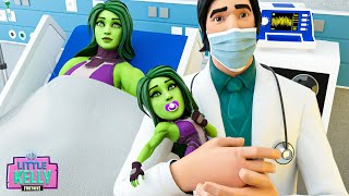 SHE HULK AND MEOWSCLES HAVE THEIR BABY | Fortnite Short Film