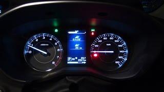 【WOT-100】スバル新型インプレッサ 2L直噴リニアトロニック 2017 SUBARU IMPREZA 2L(AWD_CVT) Full Acceleration
