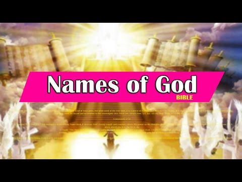 Names Of God | Bible Meanings