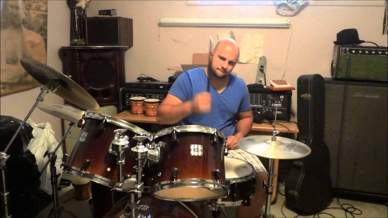 Drum Lesson - One Easy Drum Beat That Sounds Hard - YouTube