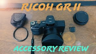 ricoh GR II Accessory Review