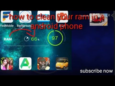 How to clean your ram on a android phone!!