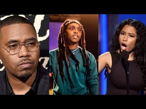 "Nicki Minaj & Nas Not Happy At Takeoff ""Motorsport"" Verse About Nicki ""If Nicki Show Me That Kitty"""