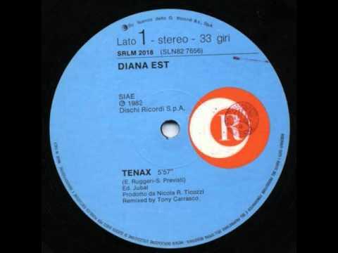 Diana Est - Tenax (Extended Version HQ Audio) 1982