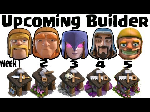 Upcoming Builder And Clashiversary Event Revealed August 2017    Bye Bye Builder    Clash of Clans