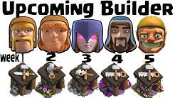 Upcoming Builder And Clashiversary Event Revealed August 2017 || Bye Bye Builder || Clash of Clans