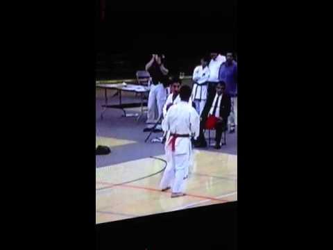 IKA Karate Tournament 2012 - Steve Ledez