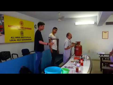 Fire and safety training Vadodara  national fire academy Vadodara  training by sajid khan