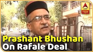 Rafale: CAG Report Will Be Out In Jan, How Could PAC Have Seen It?: Bhushan | ABP News