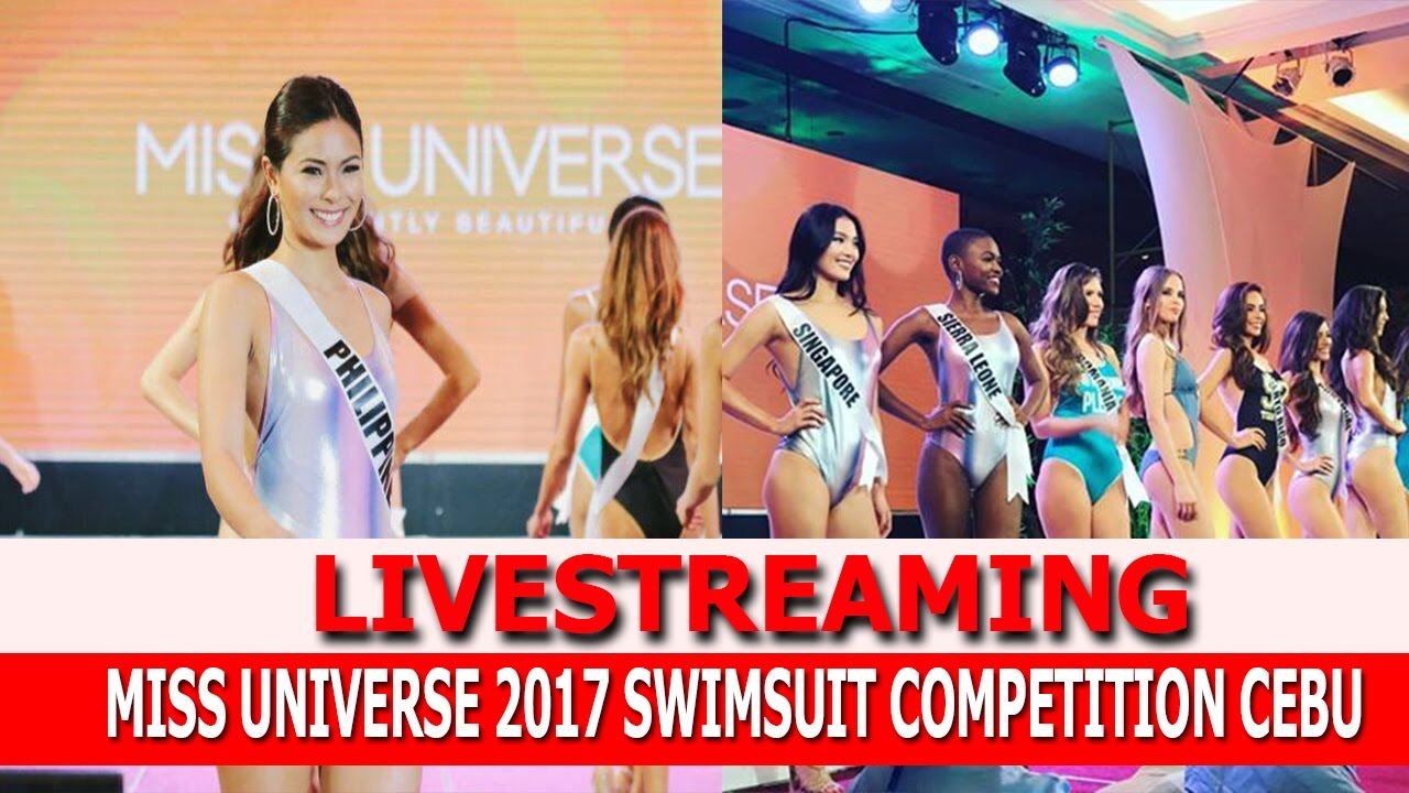 LIVESTREAMING: MISS PHILLIPINES NANGIBABAW SA SWIMSUIT COMPETITION NG MISS UNIVERSE SA CEBU