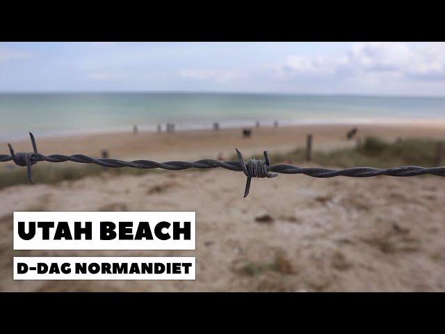 Utah Beach D-dag Normandiet