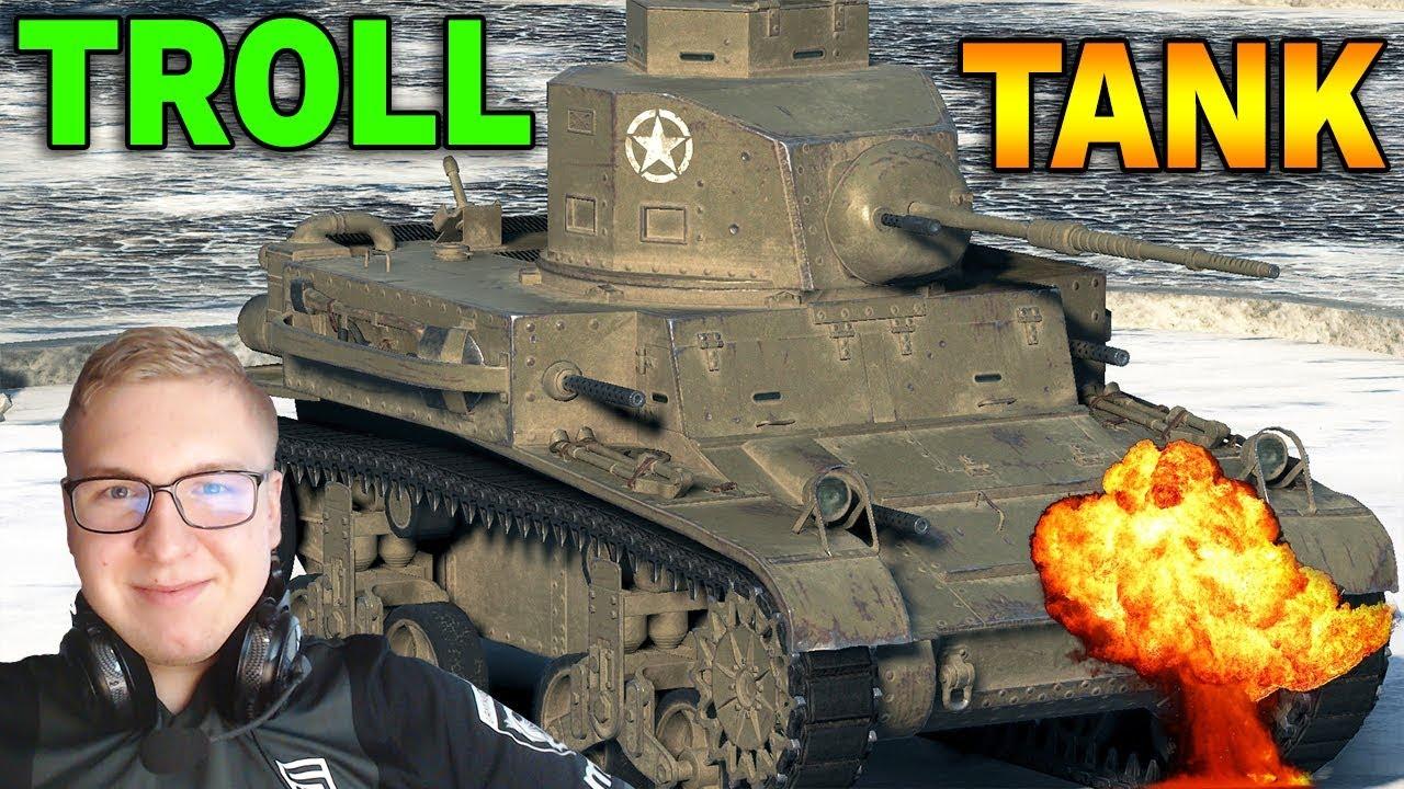 OP MAGAZYNEK – M2 Light Tank – World of Tanks