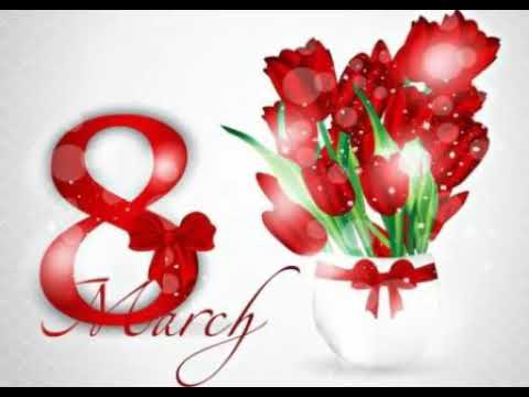 8 Mart Tebrikleri (8 Martiniz Mubarek Xanimlar)