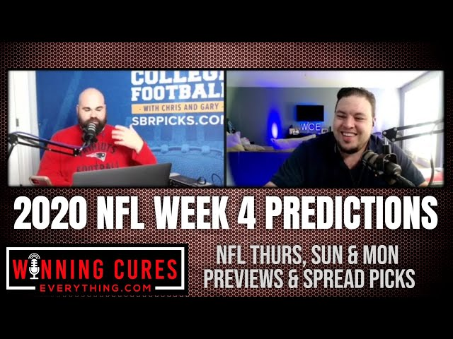 NFL 2020 Week 4 Spread Picks, Previews & Predictions