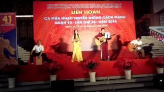 Nhạc truyền thống (Cover) - Quốc Khánh -Thu Uyên - Live Acoustic
