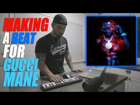 """Making a Beat for Gucci Mane """"Evil Genius"""" Album"""