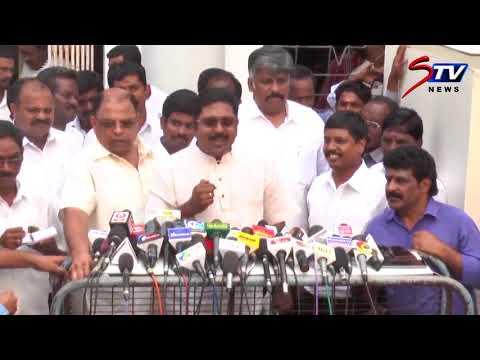 TTV Dhinakaran's after meeting Chief Electoral Officer Rajesh Lakhoni | Press Meet On RK Nagar||STV