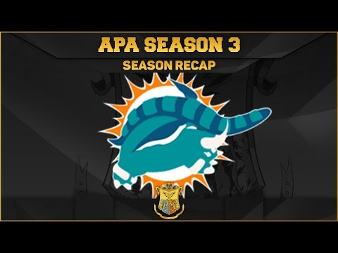 Miami Donphans APA Season 3 Recap! FUTURE PLANS FOR THE CHANNEL!