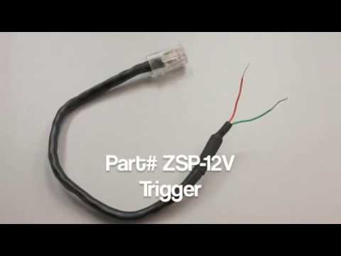 Elite Screens ZSP 12V Trigger Setup Video