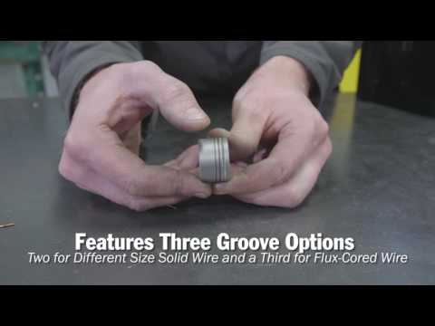 Miller Quick Select Drive Roll Makes Welding Setup Quick and Easy
