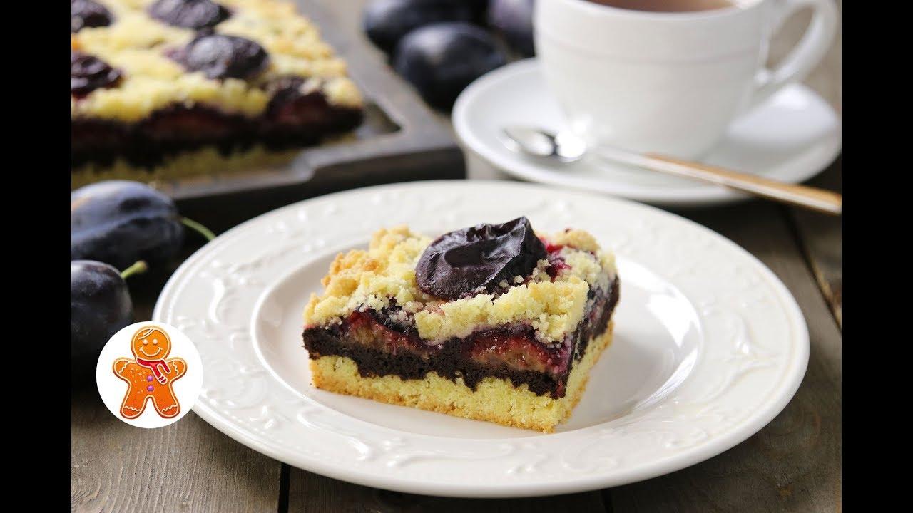 Сливовый Пирог с Шоколадом ✧ Plum Cake with Chocolate (English Subtitles)