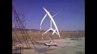 Urban Green Energy 4 kW -Vertical Axis Wind Turbine