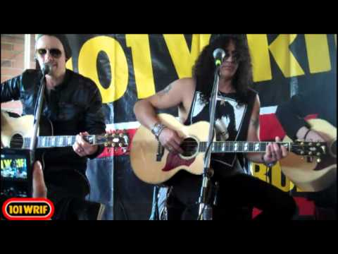 Slash ft. Myles Kennedy - Patience - 101 WRIF Detroit