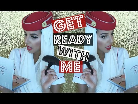 GRWM To Fly ! ✈ Emirates Cabin Crew | Yas & Nab