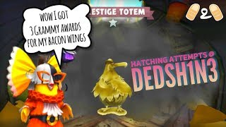Angry Birds Evolution Flockaballooza Hatching Attempts at Dedsw1N3 Gameplay