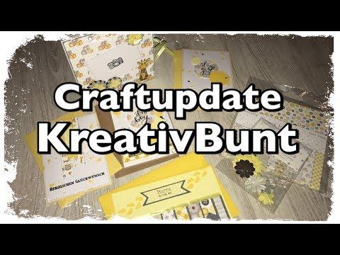 Craftupdate mit Material von Kreativ Bunt, watch me, how to, Mini Album, Baby, basteln, DIY