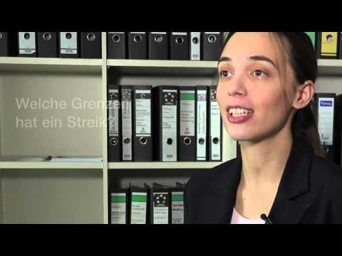 Streik und Streikrecht einfach erklärt mit Lena Rudkowski