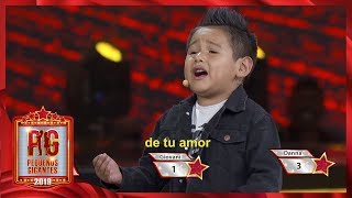¡Giovani asegura que Juan Gabriel está vivo! | Pequeños Gigantes 2019