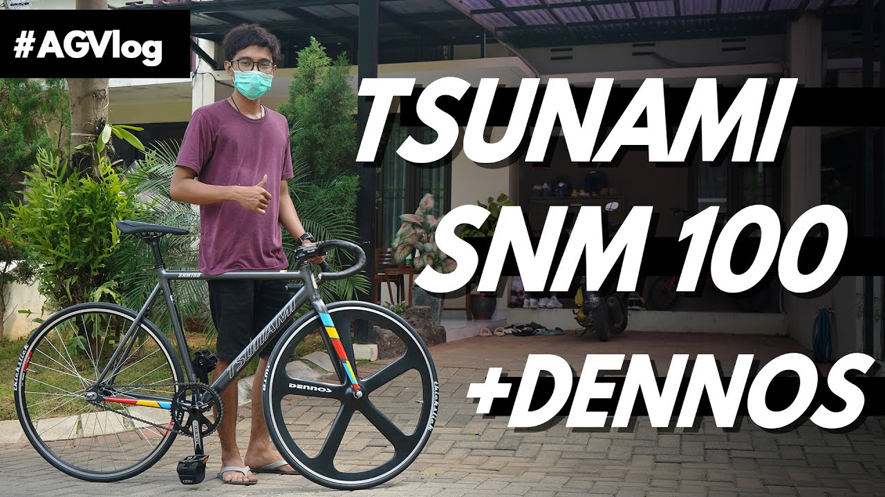 Anter Fullbike Tsunami snm 100 + Dennos ke Customer !