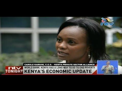 LAUNCH OF THE KENYA ECONOMIC UPDATE 2018 BY WORLD BANK KENYA ( NTV COVERAGE)