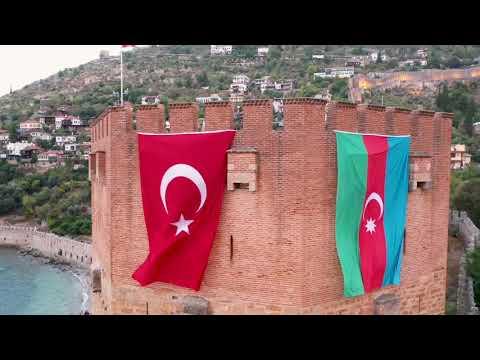 Alanyamızdan selam olsun can Azerbaycan'a... #Alanya #Türkiye #Azerbaycan