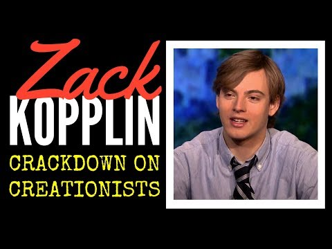 Crackdown on Creationists -  Zack Kopplin, Education Activist