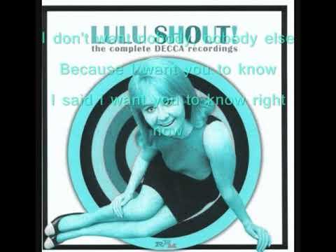 Lulu Shout Lyrics