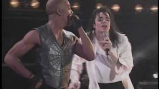 Michael Jackson en el Estadio Azteca. Black or White