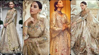 gourgious wedding wear/bridal wear/Party wear dresses ideas for girls and women's