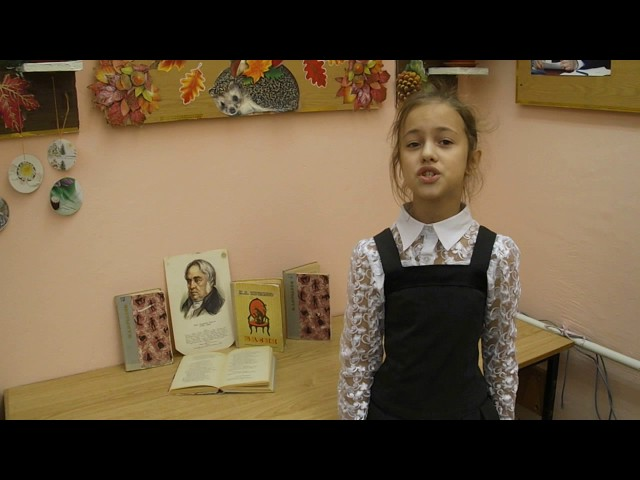 Изображение предпросмотра прочтения – АннаМихайленко читает произведение «Ворона и Лисица» И.А.Крылова