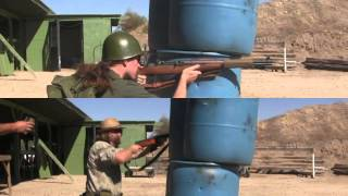 2-Gun Action Challenge Match: SVT40 vs M1 Garand