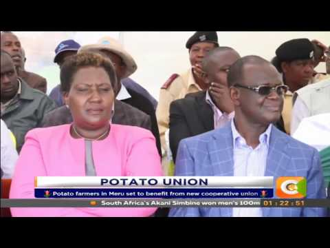 Potato farmers in Meru set to benefit from new cooperative union