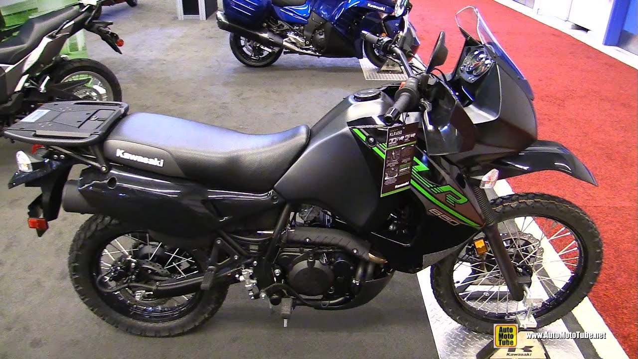2017 Kawasaki Klr650 Walkaround Montreal Motorcycle Show