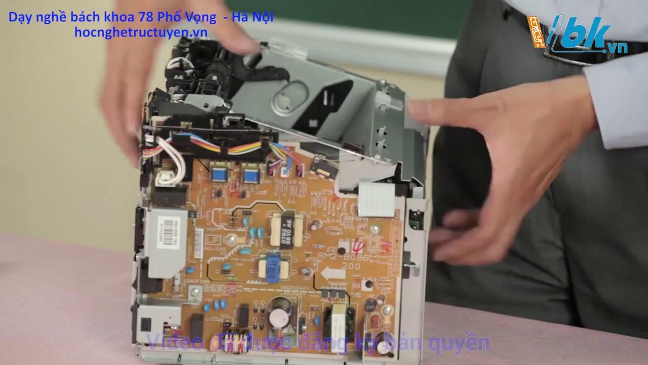 Bài 2 – Phân tích sơ đồ khối của máy  Canon 2900